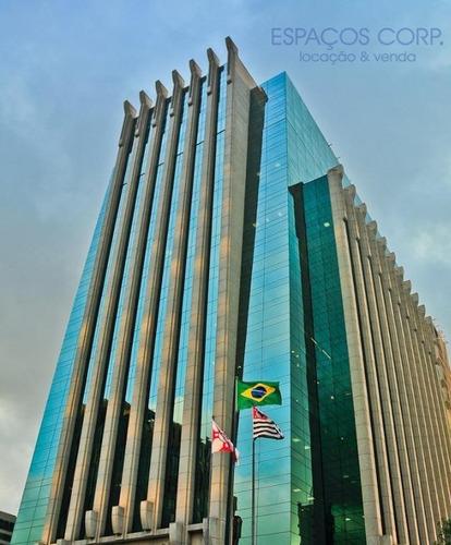 Laje Corporativa Para Alugar, 3606m² - Itaim Bibi - São Paulo/sp - Lj0150