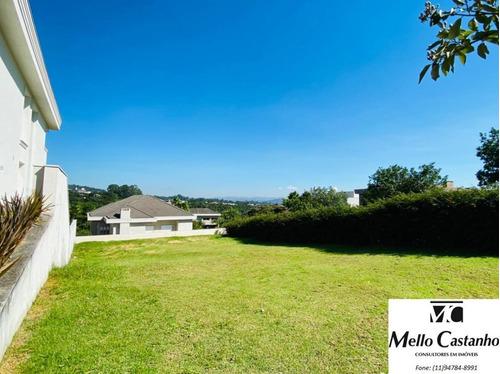 Imagem 1 de 15 de Terreno Em Condomínio Para Venda Em Santana De Parnaíba, Alphaville - Gênesis Ii - 1001365_1-1817757