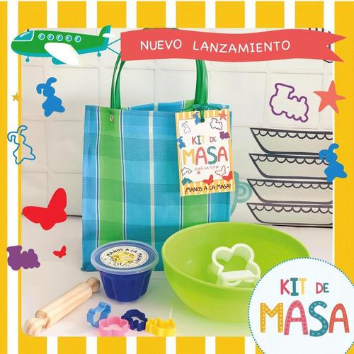 Imagen 1 de 1 de Kit Crea Tu Masas - Manos A La Masa