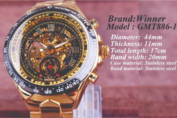 O Vencedor Do Esporte Mecânico Relógio De Ouro Luxo 2020