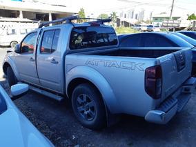 Nissan Frontier 2.5 Attack Cab. Dupla 4x4 Sucata Para Peças