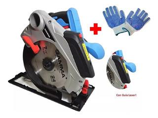Sierra Circular Gamma G1930 1300w 185mm Laser Envio Cuotas