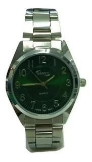 Reloj Ornet Hombre Metal Clasico Numeros Garantia Oficial