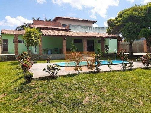 Imagem 1 de 21 de Chácara Residencial À Venda- Recanto Da Colina- Cerquilho Sp - Ch0135