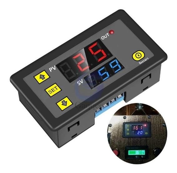 Módulo Rele Retardo Temporizador Multifunção 12v Ou 110/220v