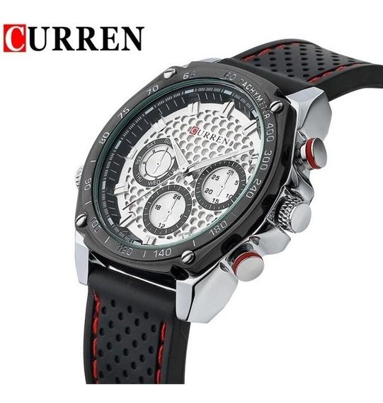 Relógio Masculino Esporte Curren Modelo 8146 Super Barato