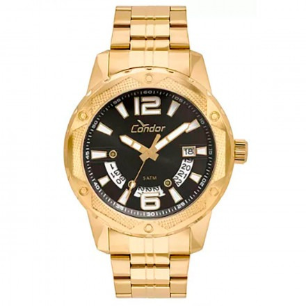 Relógio Condor Masculino Co2415bl/4p C/ Garantia E Nf