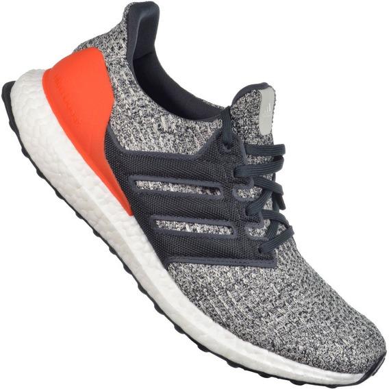 Tênis adidas Ultraboost W Cinza/laranja