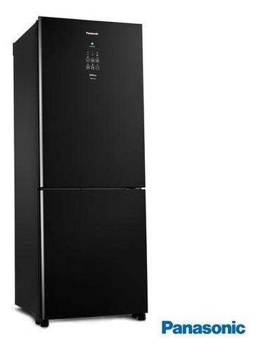 Geladeira/refrigerador 425 Litros 2 Portas Preto - Panasonic - 110v - Nr-bb53gv3ba