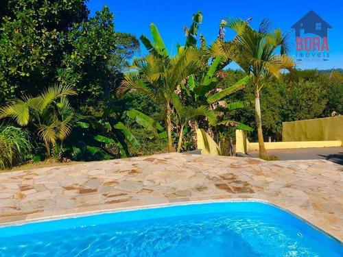 Imagem 1 de 27 de Chácara Com 2 Dormitórios À Venda, 1500 M² Por R$ 610.000,00 - Estância San Remo - Atibaia/sp - Ch0331