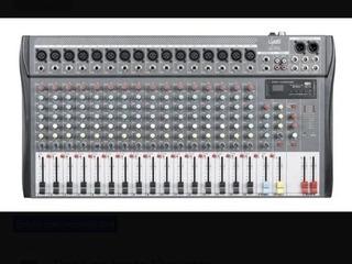 Consola De Sonido, 16 Canales Con Efectos