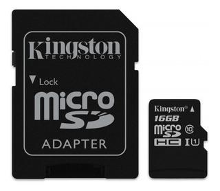Memoria Kingston Msdhc-16gb-sdc10g2-cl10
