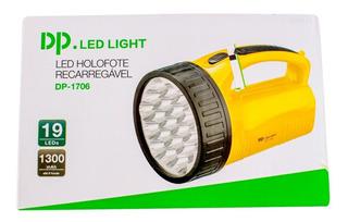 Lanterna Holofote Dp1706 Super 19 Leds Super Desconto Hoje