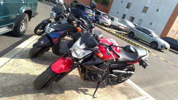 Yamaha Xj6n 2011 Roja - Exosto Two Brothers