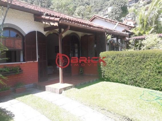 Ótima Casa Linear Com 2 Quartos + 1 Reversível Em Condomínio No Alto. - Ca01171 - 34457791