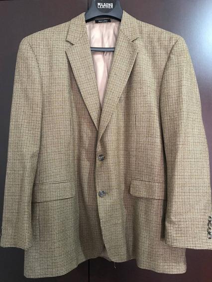 Saco Polo Ralph Lauren Usado Orig Talla 48r Color Beige