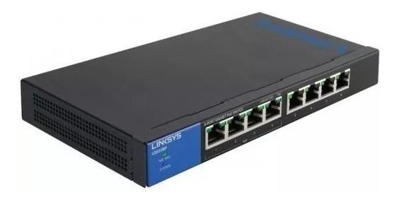 Switch Linksys Gigabit 5 Puertos 10/100/1000