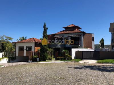 Excelente Casa Duplex 4 Qtos, 2 Sts À Venda, 1.333 M² - Dentro De Condomínio - Pendotiba - Niterói/rj - Ca0944