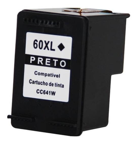 Promoção Cartucho 60xl Preto Compativel + Garantia | 20ml