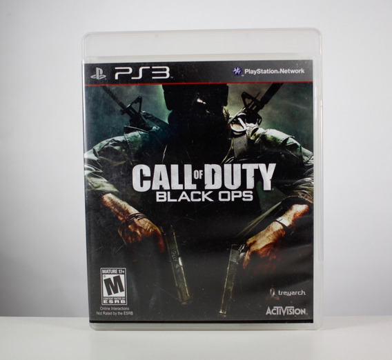 Call Of Duty Black Ops - Ps3 - (mídia Física)