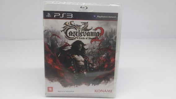 Castlevania 2 Lords Of Shadow Ps3 Blue Ray Disc Lacrado