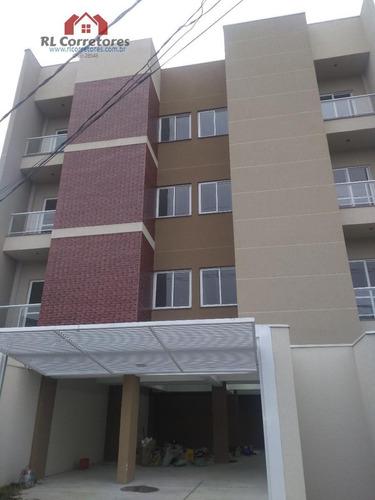 Apartamento Para Venda Em São José Dos Pinhais, Boneca Do Iguaçu, 3 Dormitórios, 1 Suíte, 2 Banheiros, 2 Vagas - Ap003_1-1431799