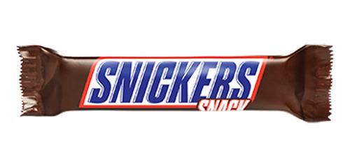 Imagen 1 de 1 de Chocolate Snickers 24ud