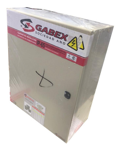 Gabinete Metalico Estanco Ip65 Tradicional 500x400x210mm