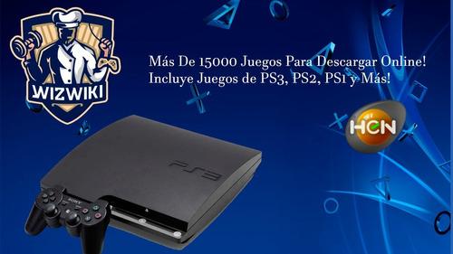 Flasheo De Ps3 + 15000 Juegos Para Poder Descargar.
