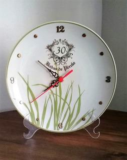 Relógio 30 Anos De Casamento, Bodas De Pérola