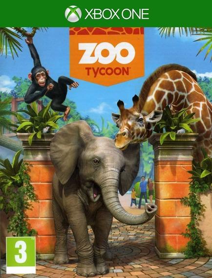 Zoo Tycoon Xbox One - 25 Dígitos (envio Flash)