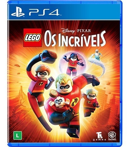 Lego Os Incríveis - Ps4 - Digital 1