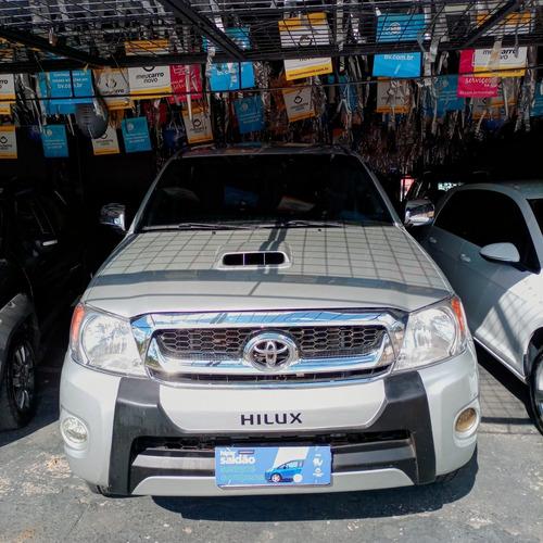 Imagem 1 de 10 de Toyota Hilux 2009 3.0 Srv Cab. Dupla 4x4 Aut. 4p