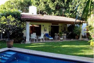 Casa En Fraccionamiento En Vista Hermosa / Cuernavaca - Roq-454-fr