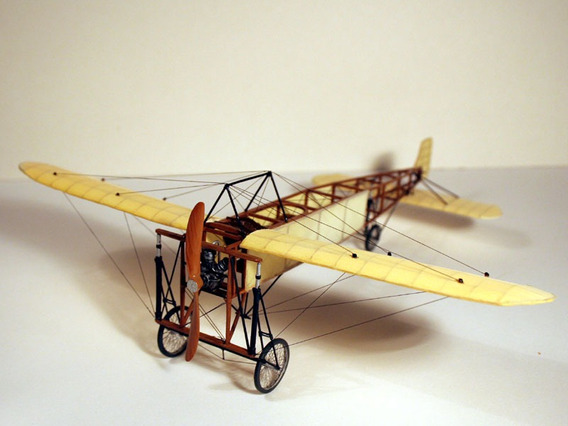 Bleriot Xi - Modelo De Papel