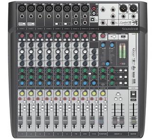 Mixer Soundcraft Signature 12mtk Multitrack Envío Gratis