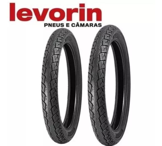 Par De Pneu Levorin 90-90 18. 80 100 18