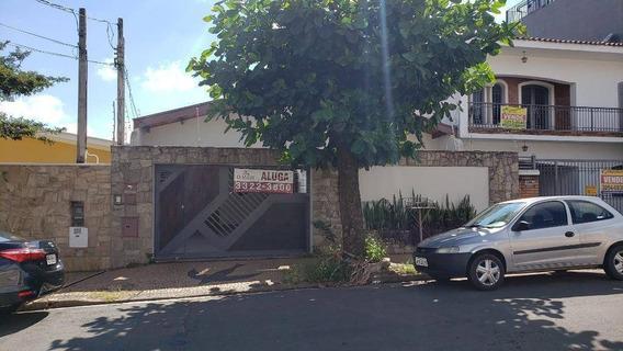 Casa Com 4 Dormitórios Para Alugar, 237 M² Por R$ 3.500,00/mês - Jardim Flamboyant - Campinas/sp - Ca13364