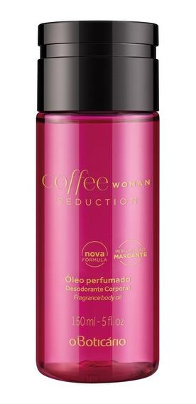 Coffee Woman Seduction Óleo Perfumado Des. Corporal 150ml