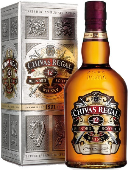 Whisky Chivas Regal X 1 Litro !!!