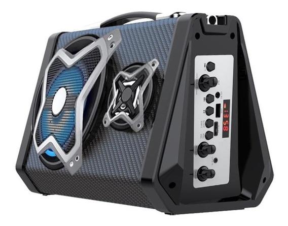Caixa Som Amplificadora Multilaser Sp314 Bluetooth 120w Rms