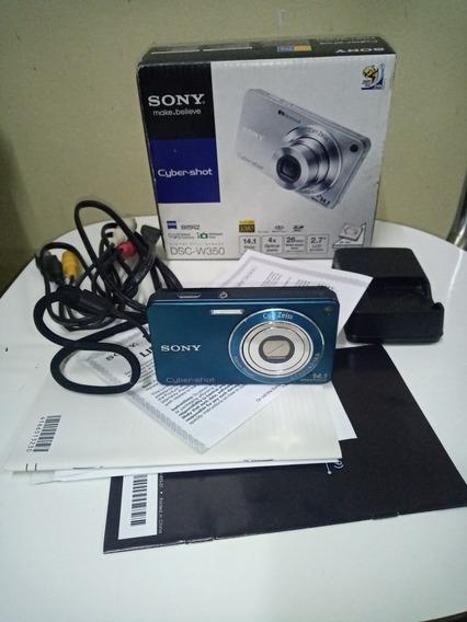 Câmera Digital Sony W350 14.1 Mp