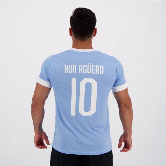 Camisa Manchester City Pattern 10 Kun Agüero