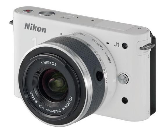 Camara Digital Nikon 1 J1 + Lente 10-30 Mm