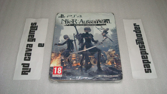 Nier: Automata Steelbook Limited Edition Ps4