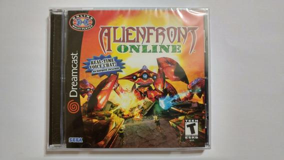 Dreamcast: Alien Front Online Americano! N O V O! Lacrado!