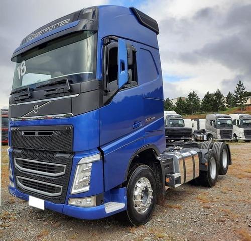 Volvo Fh 460 6x2 Globetrotter I Shift 2018 Azul Capri Top **