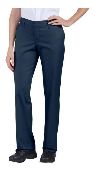 Fp221 Dickies Pantalon De Dama Frente Liso
