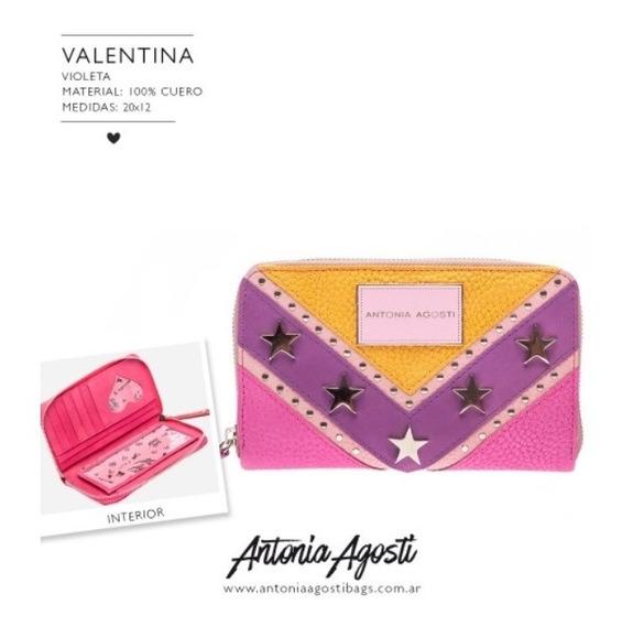 #valentina Billetera Antonia Agosti