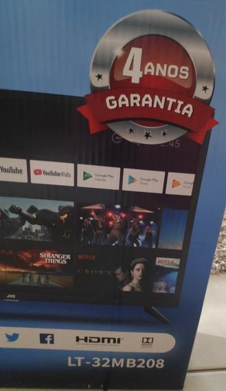 Smart Tv Jvc 32 Full Hd Nova Lacrada 4 Anos De Garantia